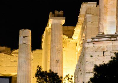 Closeup of Acropolis